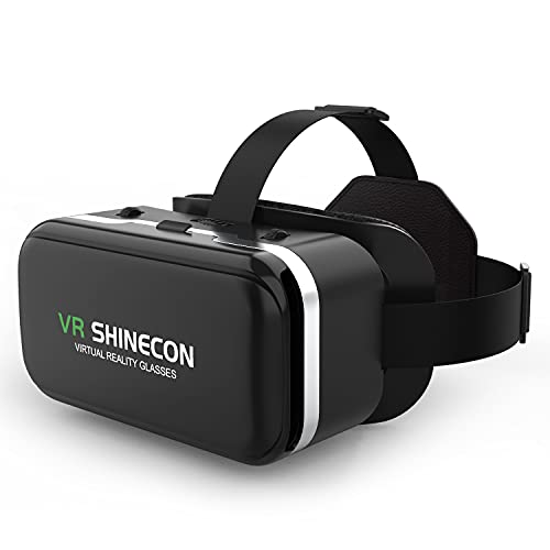 meetdas VR Brille Virtual Reality Headset, 3D...