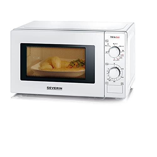 SEVERIN 2-in-1 Mikrowelle mit Grill 700 W,...