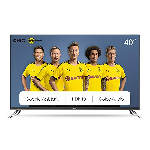 CHiQ 40 Zoll (100 cm), Android 9.0, Smart TV,...