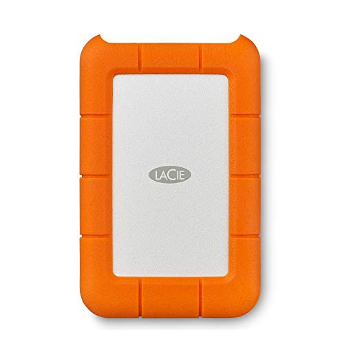LaCie Rugged USB-C, tragbare externe...