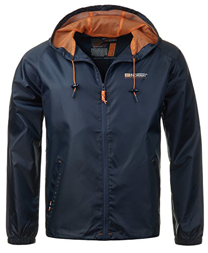 Geographical Norway Herren Regenjacke Boat...