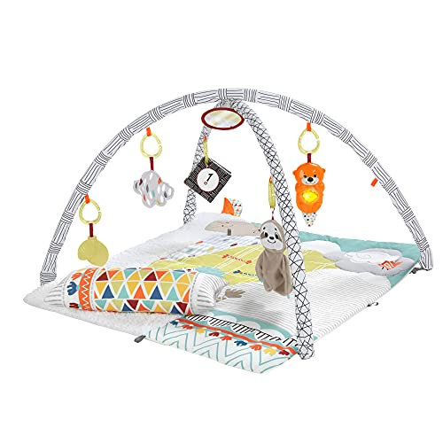 Fisher-Price GKD45 - 5 Sinnes Baby Spieldecke...