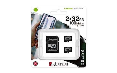 Kingston Canvas Select Plus microSD...