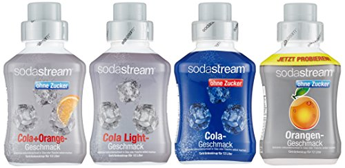 SodaStream 4er Sirup-Packung, Cola ohne...