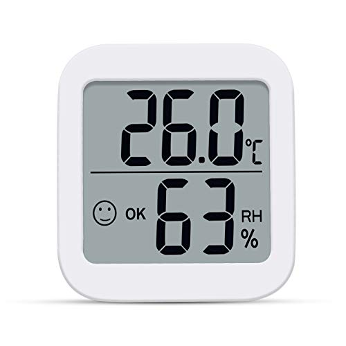 Aplusdeal digitales Thermo-Hygrometer Innen...
