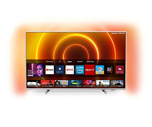 Philips 65PUS7855/12 LED-Fernseher, Silber,...
