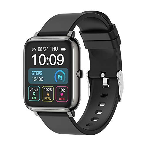 Smartwatch 1.4 Zoll Touch Farbdisplay Fitness...