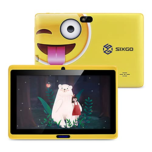 Kinder Tablet SIXGO 7 Zoll Android Pads...
