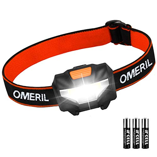 OMERIL Stirnlampe Kopflampe Stirnlampe LED...