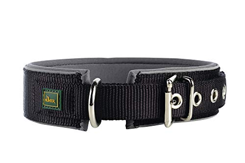 HUNTER NEOPREN REFLECT Hundehalsband, Nylon,...