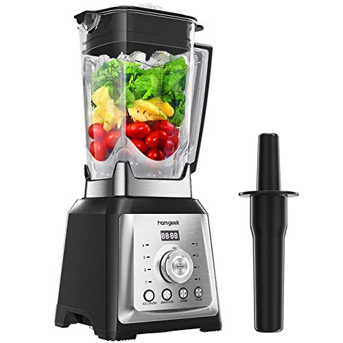 Standmixer Smoothie Maker, homgeek 2000W...
