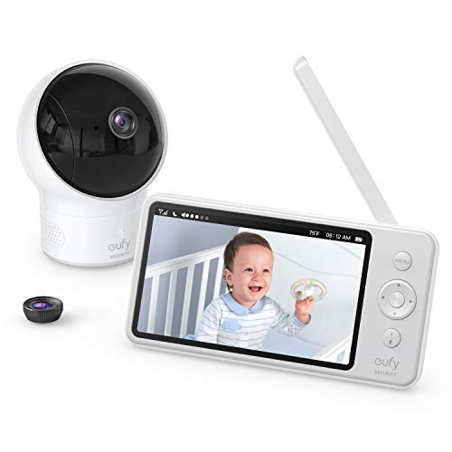 eufy Security SpaceView Babyphone mit 5 Zoll...