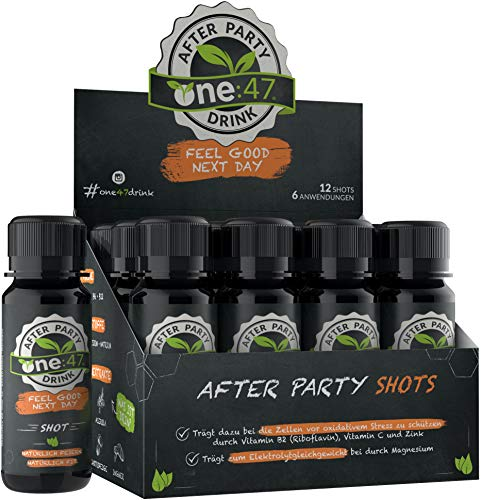 one:47® After Party Drink   12 Shots  ...