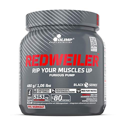 Olimp Redweiler Pre Workout 480 Grams Red...
