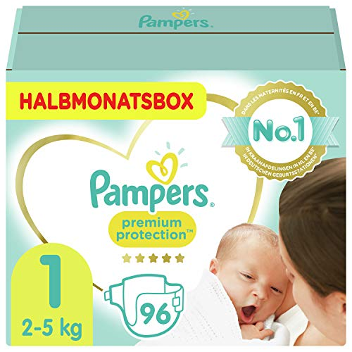 Pampers Größe 1 Premium Protection Baby...