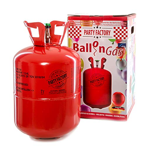 Party Factory Ballongas Helium für 50...