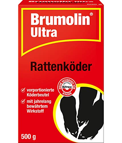 PROTECT HOME Brumolin Ultra Rattenköder,...